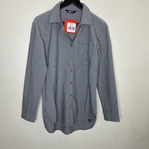 THE NORTH FACE WOMEN'S STEVIE WOVEN SHIRT SIZE XS